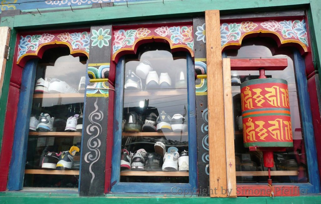 Bhutan Shopping