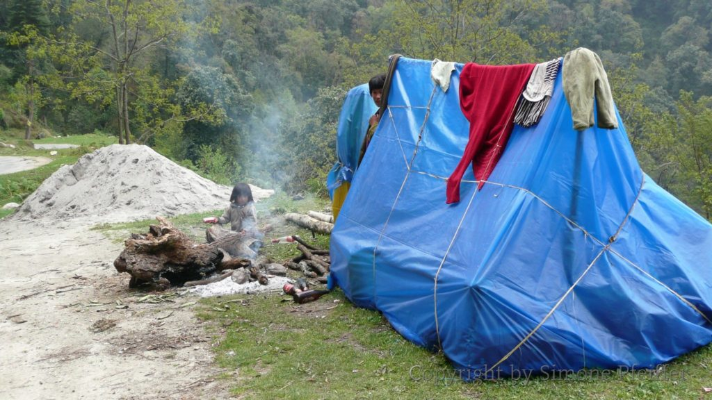 DOR - Camp der Straßenarbeiter.