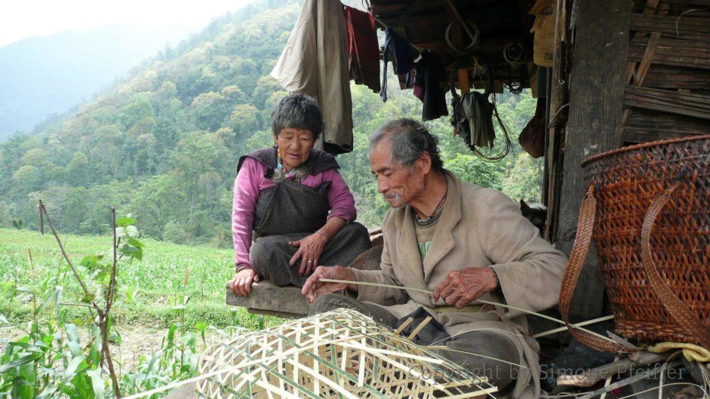 Bhutan couple