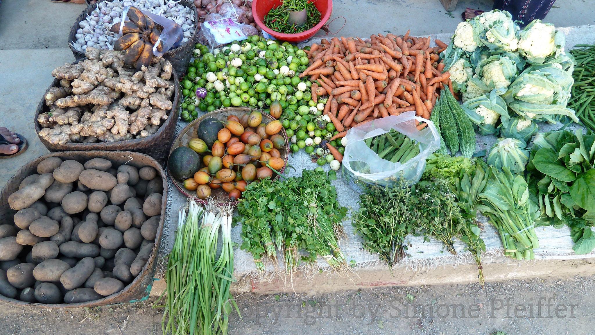 Chin State Market