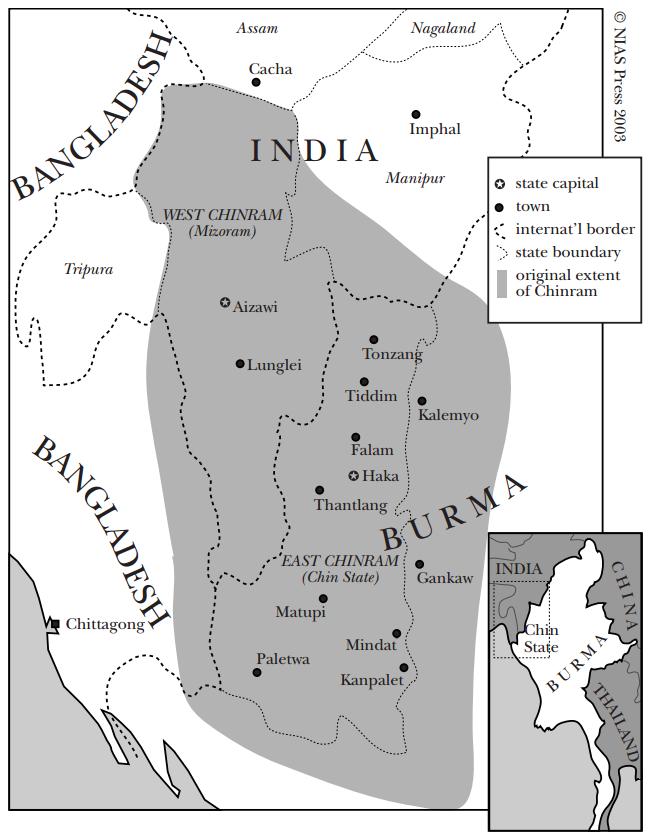 Map Chinram