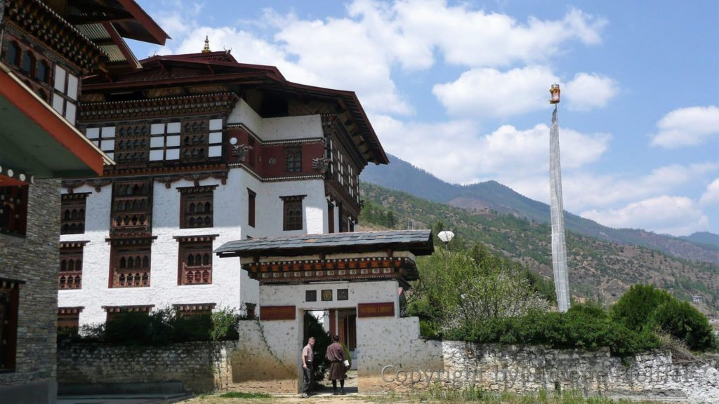 Thimphu Nationalbibliothek