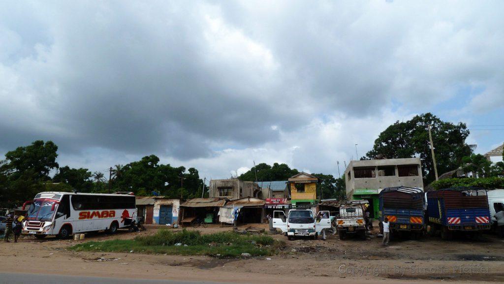 Ukunda Bus Station