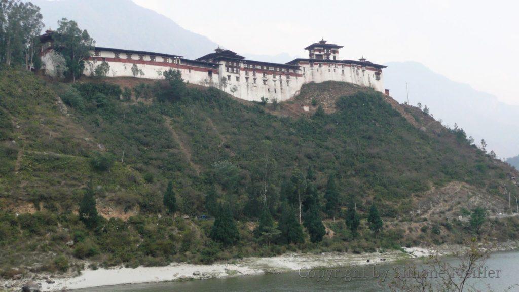 Wangdue Phodrang Dzong 2009