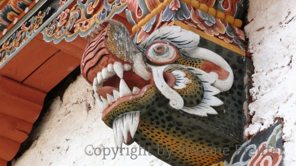 Bhutan - The Lucky Dragon.