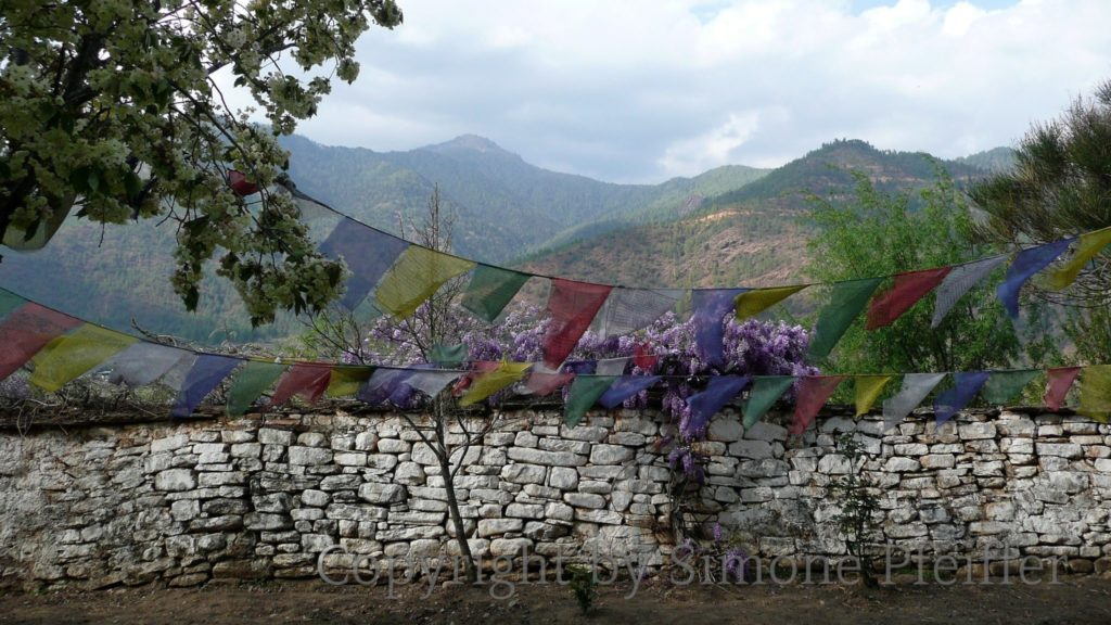 View from Kyichu-Lhakhang