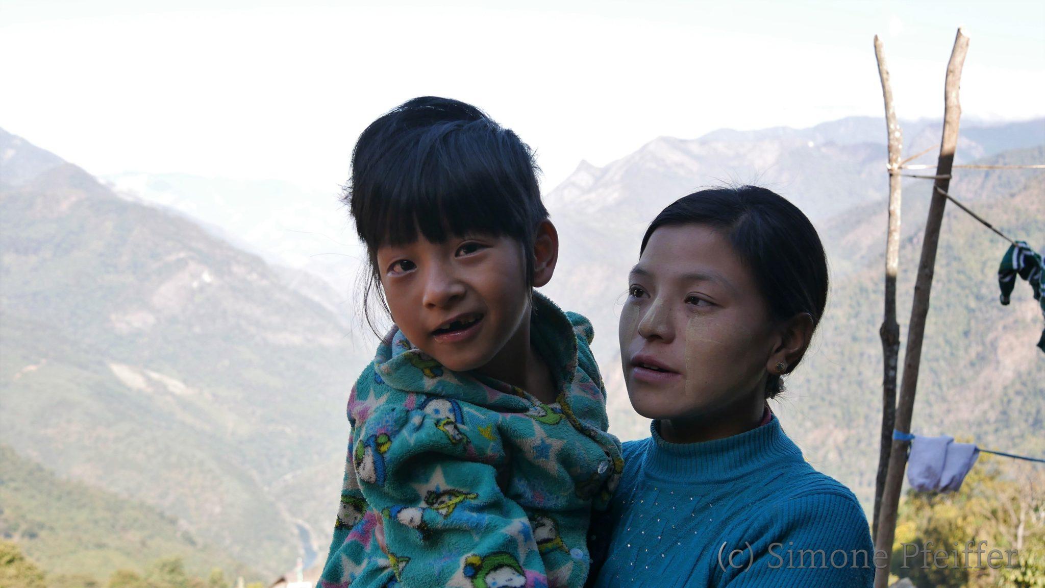 Eine Körperbehinderung ist ein schweres Schicksal in den Naga Hills.